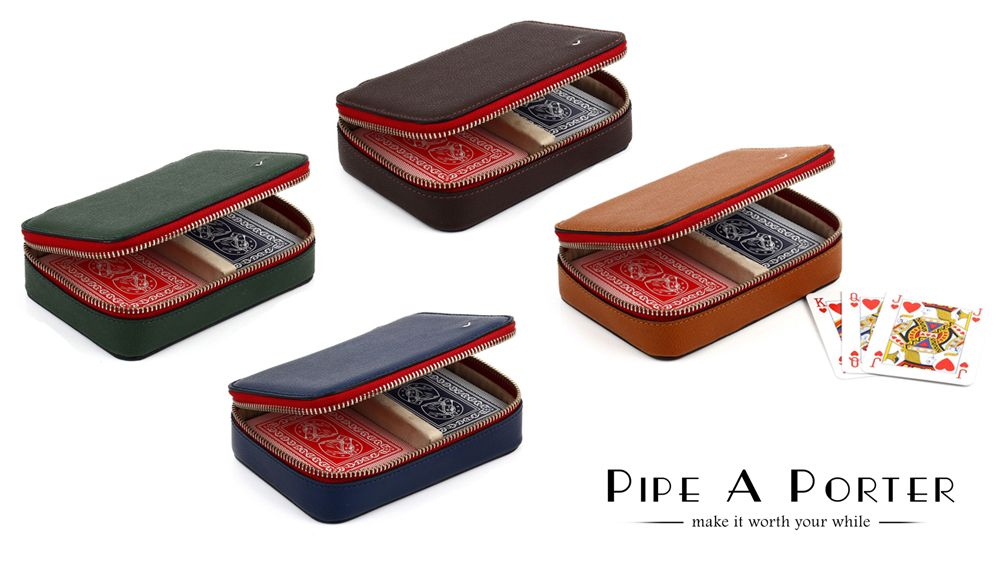 Playing card case by Savinelli only on www.pipeaporter.com
