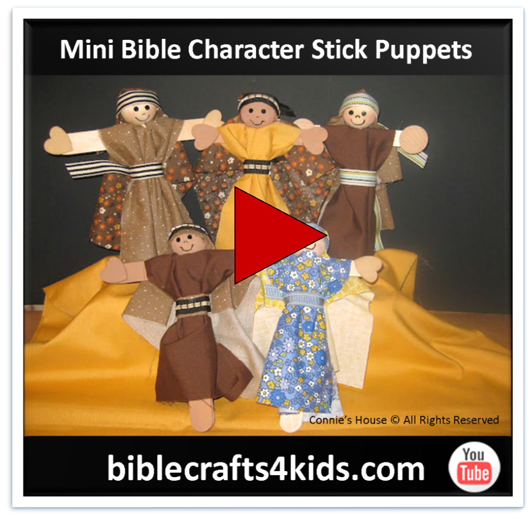 construction tips for creating connie u0027s miniature bible character