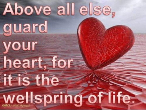 guard your heart  #motivation #quotes #inspiration