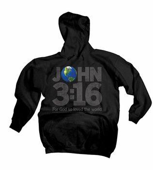 John 3:16 World Christian Hoodie by Kerusso $32.99