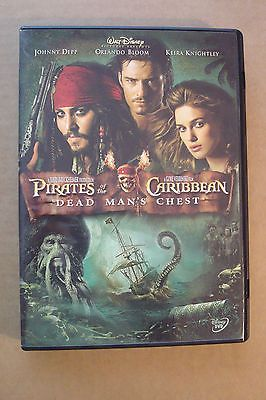 Dvd Pirates Of The Caribbean 2 Dead Mans Chest Johnny Depp Orlando