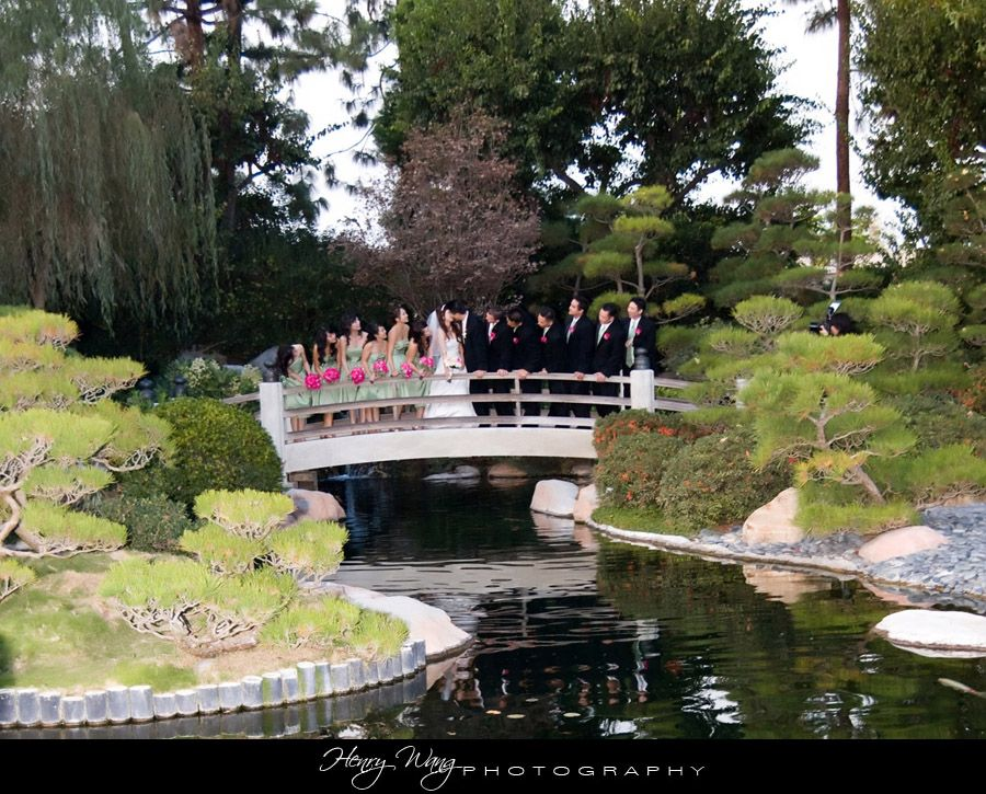 Cal State Long Beach Ebm Japanese Garden Wedding Ceremony With