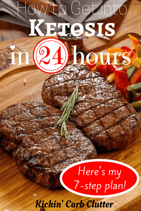 Need to Know How to Get Into Ketosis in 24 Hours or Less? Here's my 7-Step Fasting Plan to Get You T...