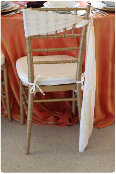 Chair Sash Ideas For Chiavari Chairs Table Design Ideas