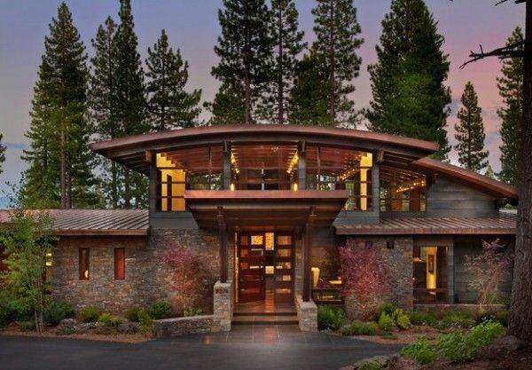 Bringing Rustic Appeal To Your Outdoor Home Contemporary Mountain Home Quonset Hut Homes House Exterior