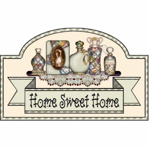 home sweet home decorative door sign statuette pinterest rh pinterest com