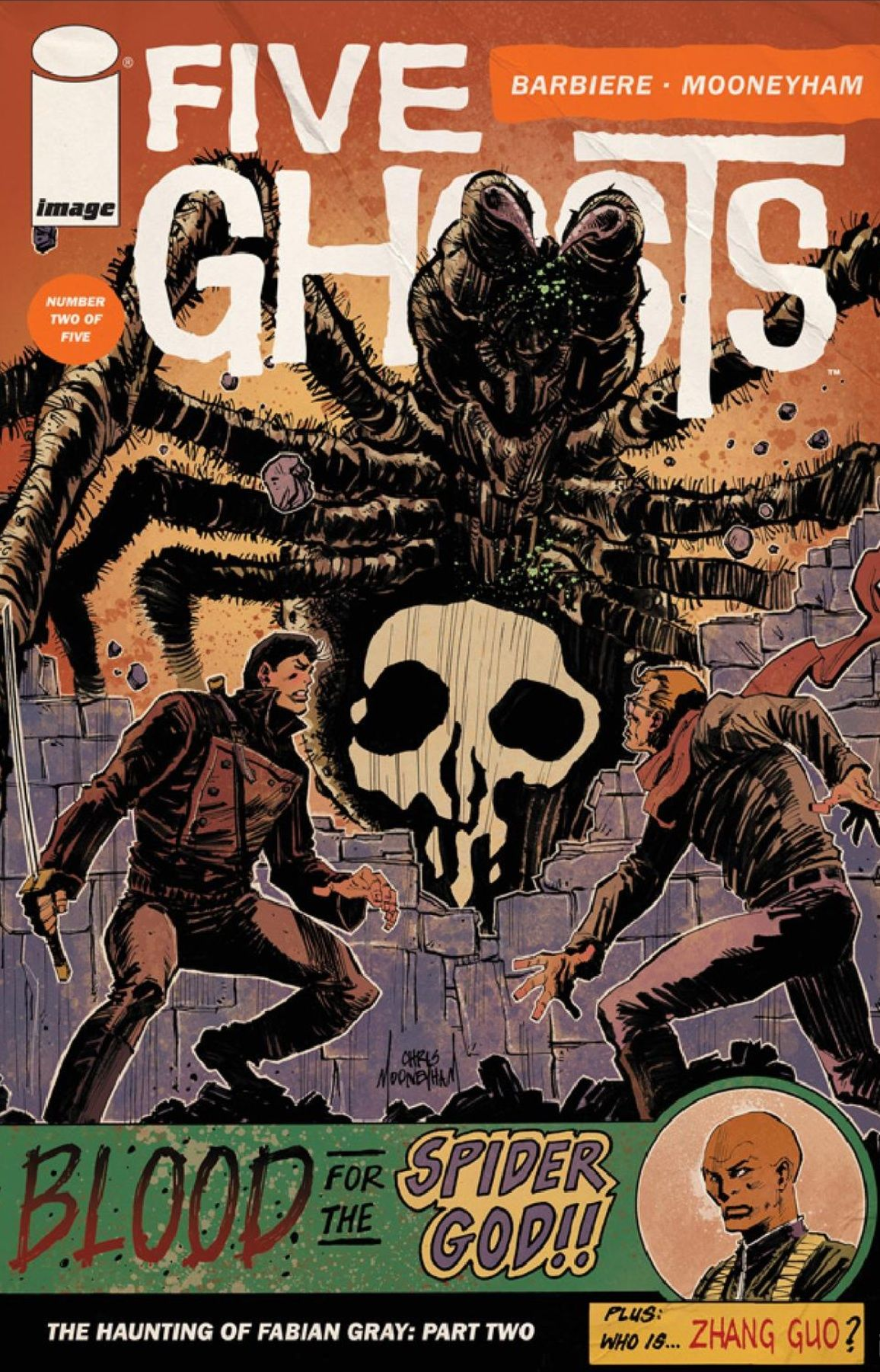 Five Ghosts: The Haunting of Fabian Grey #2