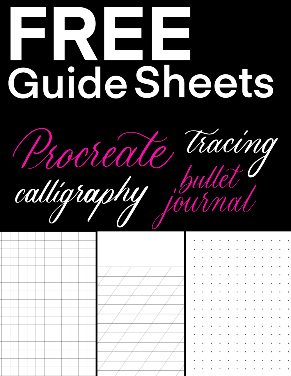 Missy Briggs Lettering guide, Calligraphy lessons, Lettering