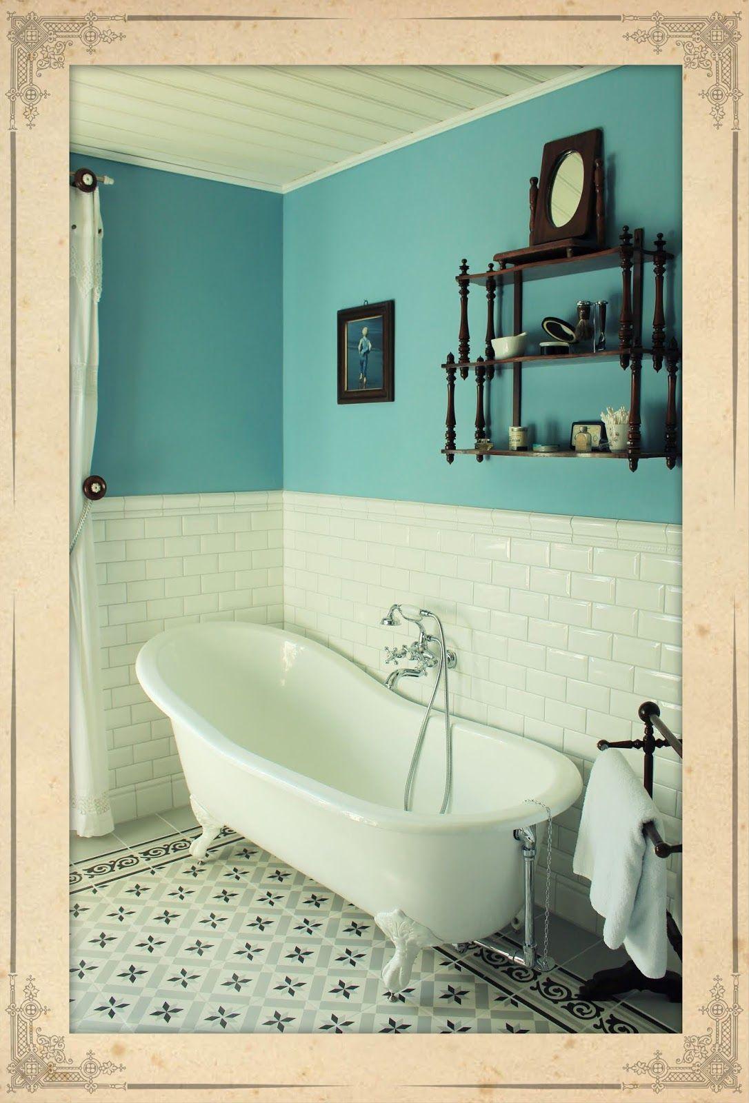 Jugendstil Badezimmer Mit Fliesen Von Vives 1900 Badezimmer Jugendstil Badezimmer Badezimmer Fliesen