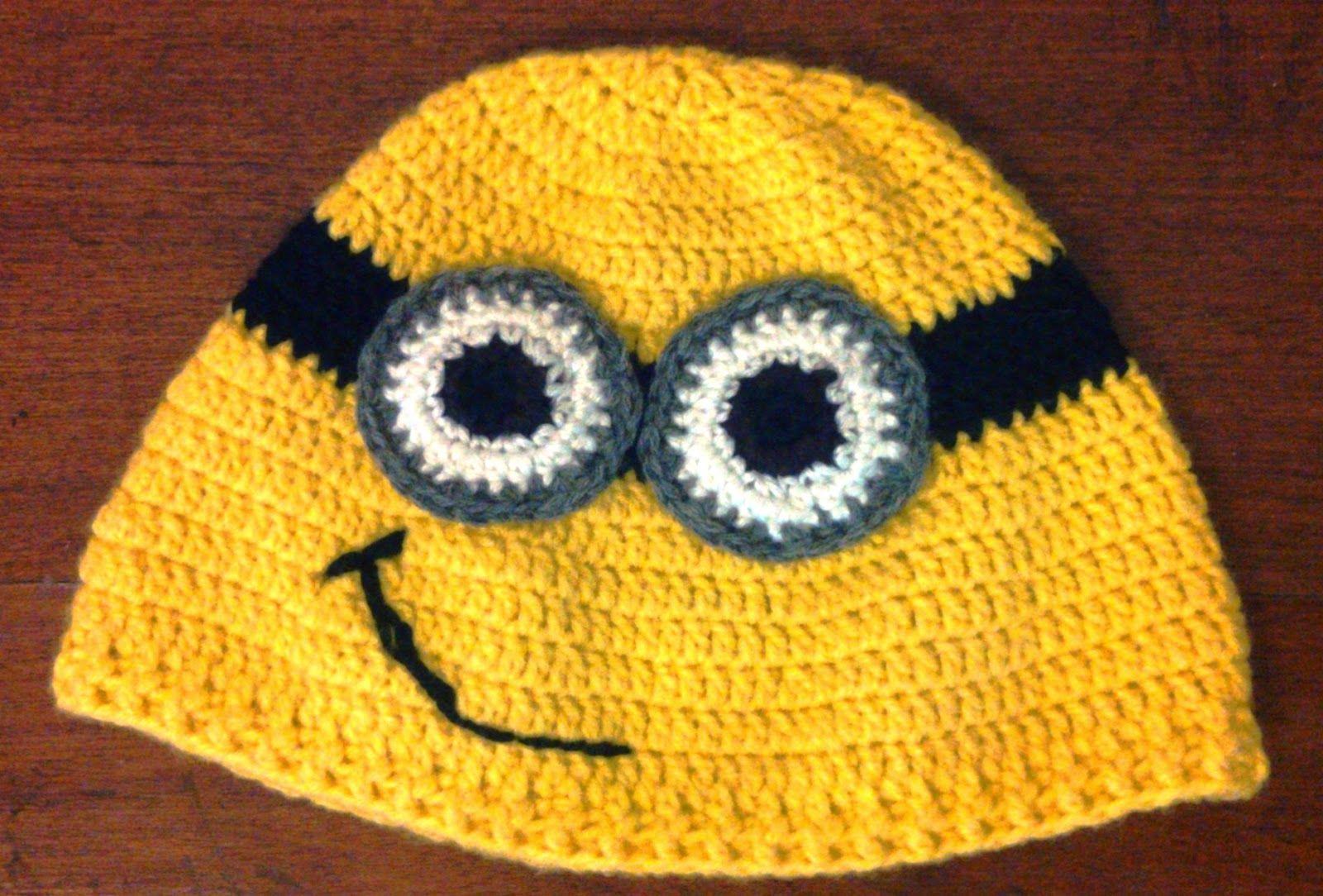 Su Crochet: gorro minions de mi villano favorito | Crochet ...