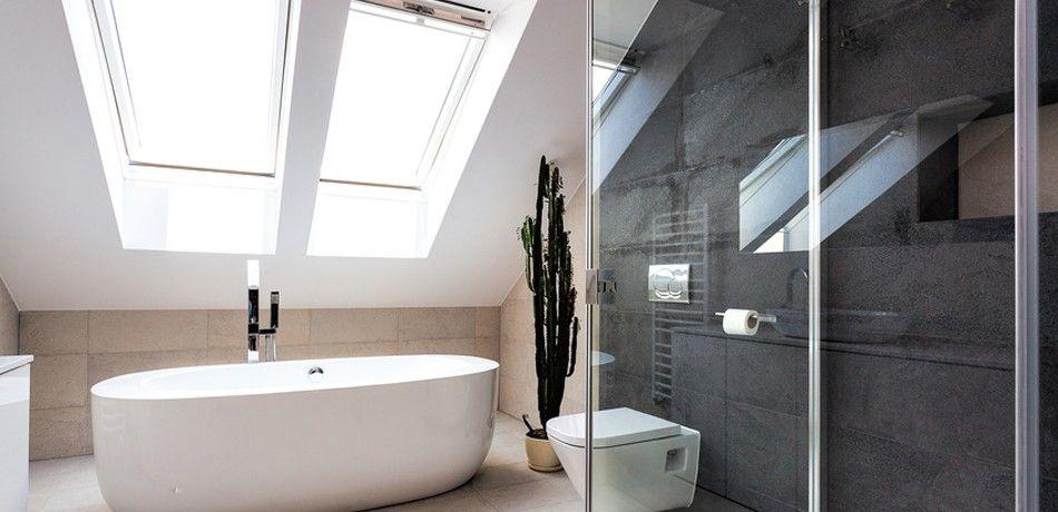 Baignoire ilot et douche l 39 italienne salle de bain Accessoire salle de bain luxe