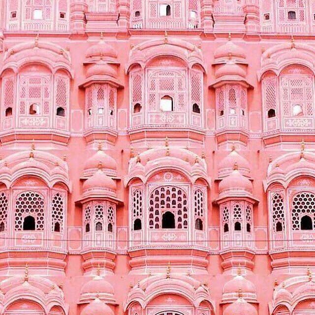 Pink Palace Jaipur in India. #India