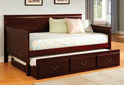 Furniture of America Gregory English Platform Daybed with Trundle - Daybed Images