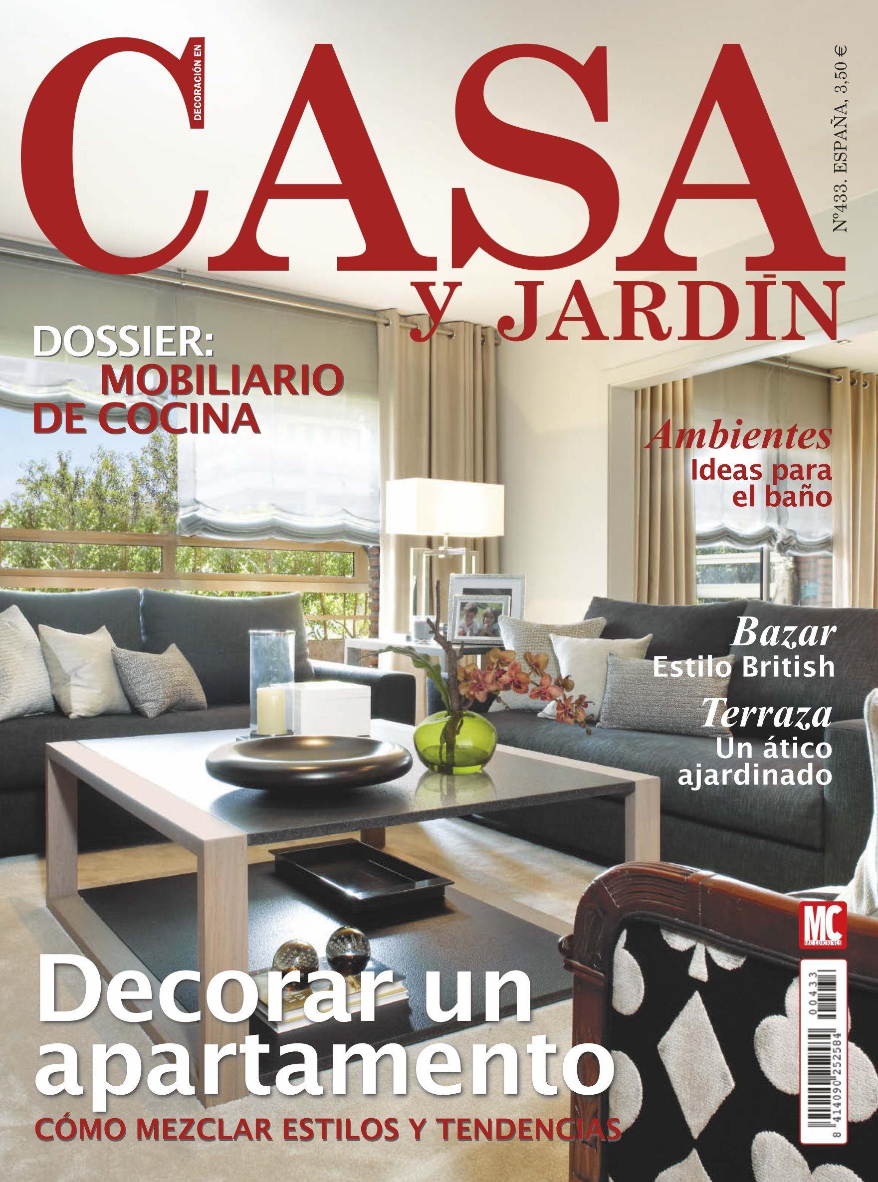 Revista casa y jardin 433 decorar un apartamento - Decorar un jardin ...
