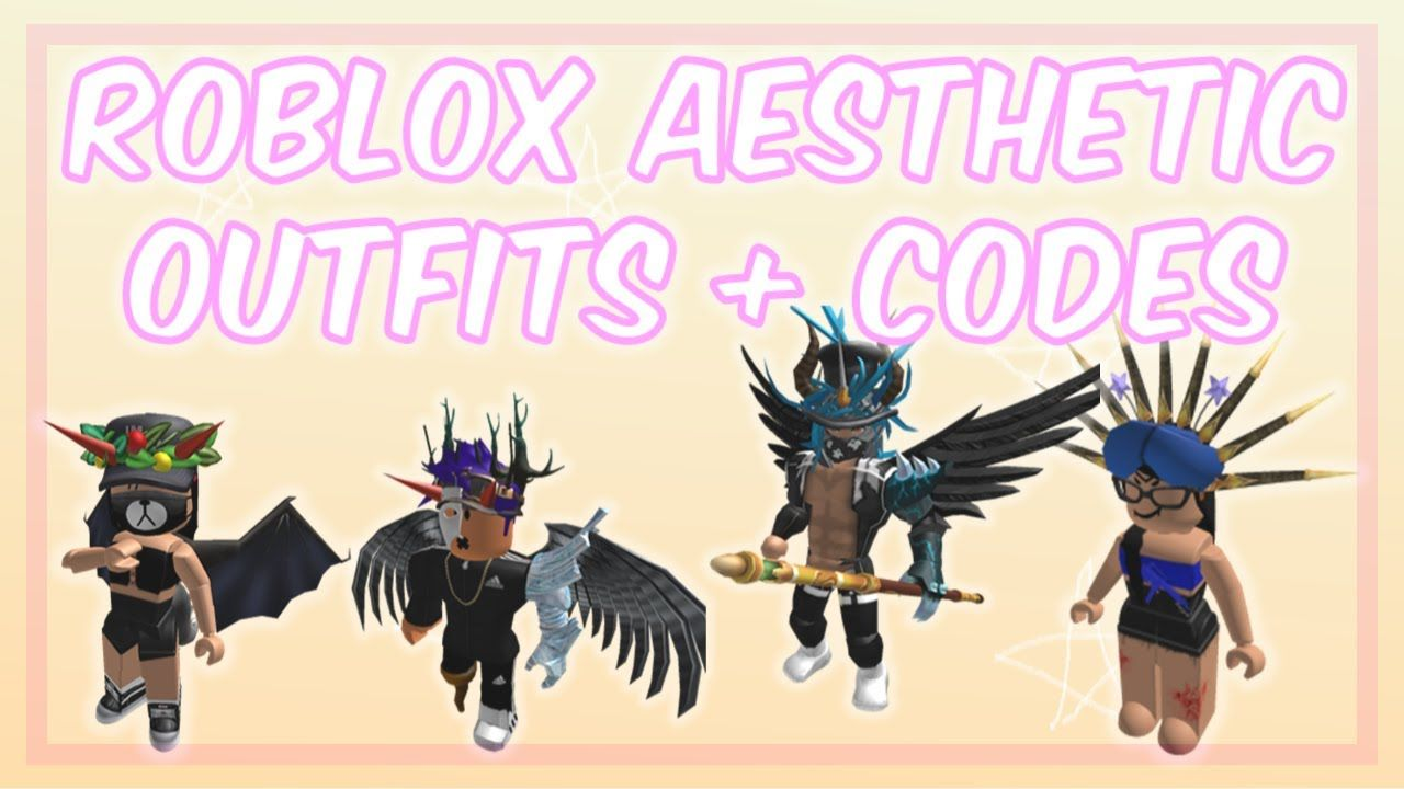 Roblox Aesthetic Outfits Ideas