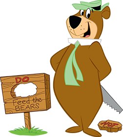 Pin By Xoa Mitcheltree On Favorite Cartoons Yogi Bear Comic Book Style Yogi Bear Campground