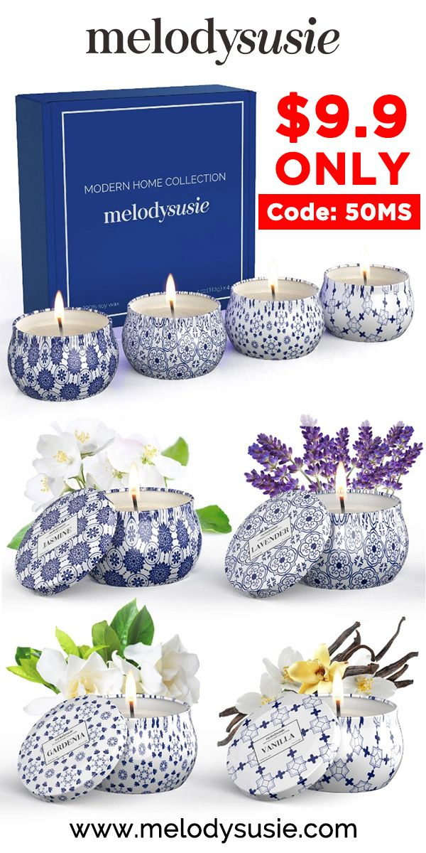 19+ 50 OFF Relief sleep Scented Candle Set