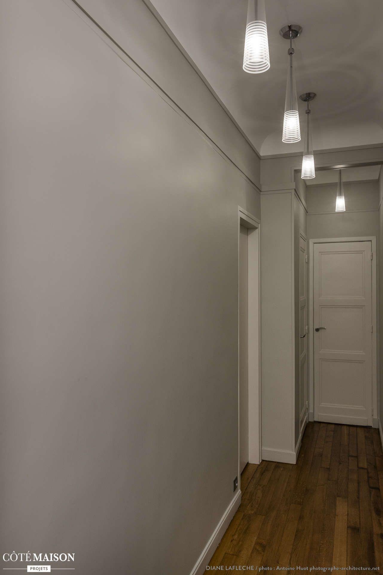 Couloir design, Boulogne-Billancourt, Decorexpat