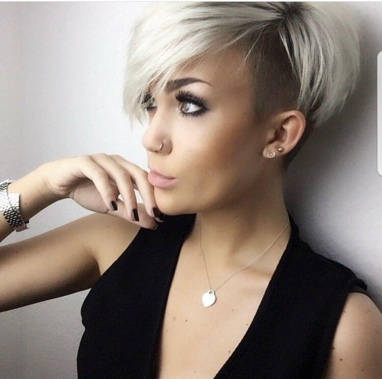 Pin By Bkm On Hair Short Hair Styles Short Hair With Bangs Undercut Hairstyles