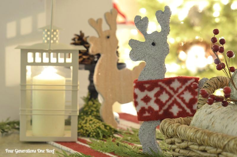 Homemade Christmas Decorations {our reindeer + more Homemade - country christmas decorations