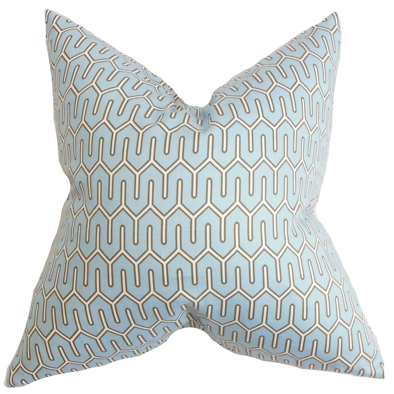 Aleeza Geometric Throw Pillow Cover (18 x 18), Multi (Fabric)