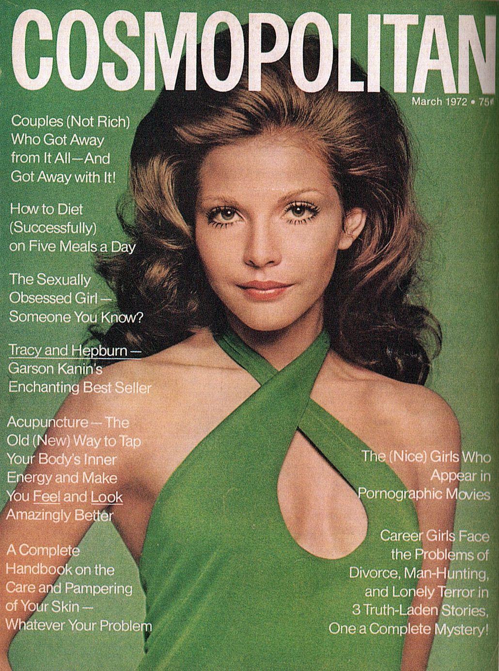 #Vintage #Cosmopolitan #MagazineCover #Halston