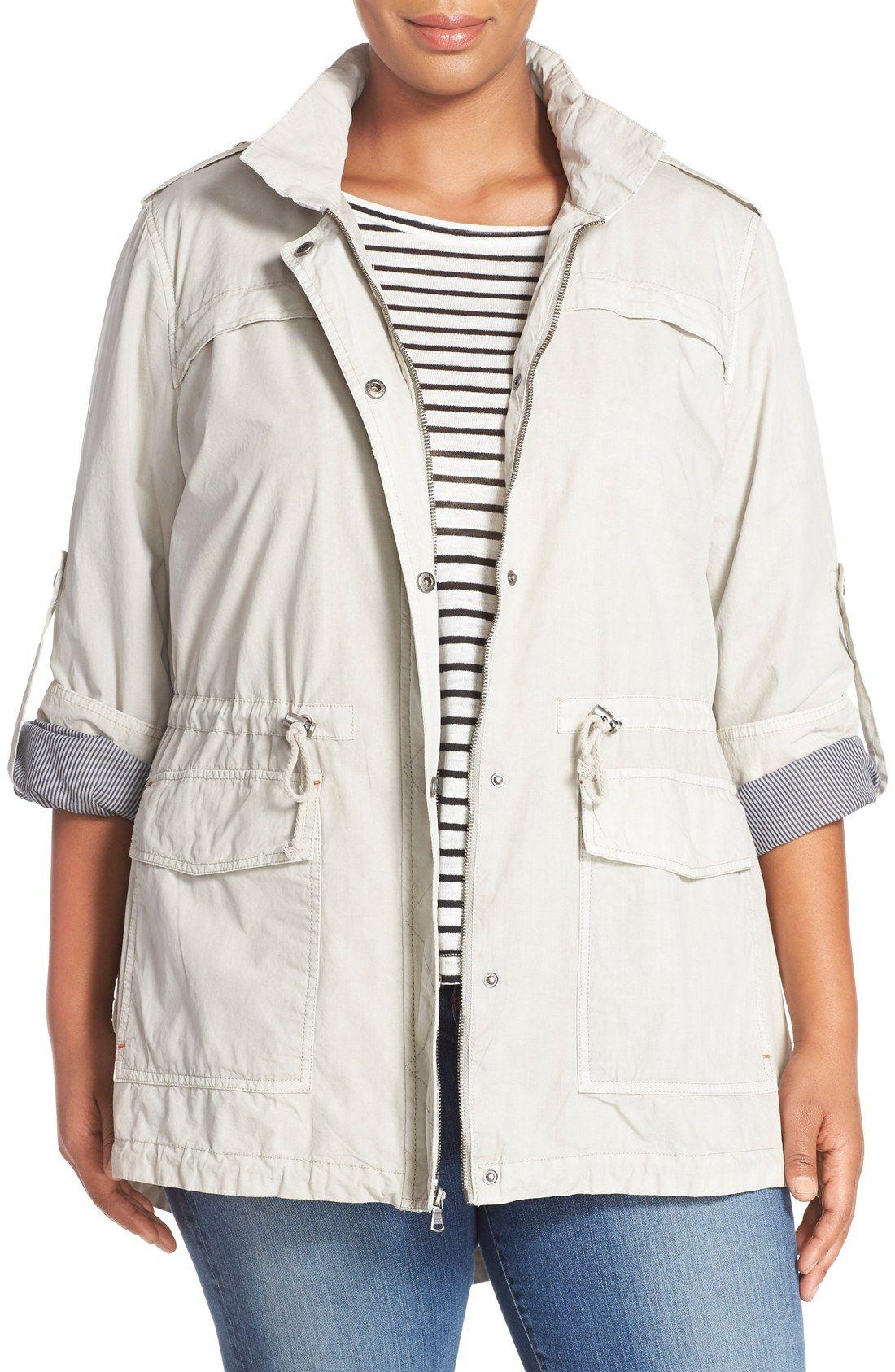 Women's cotton utility jacket