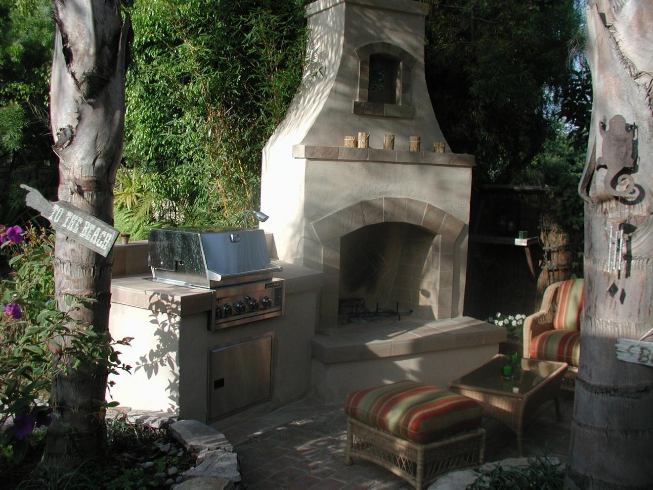 Outdoor Fireplaces | MODULAR OUTDOOR FIREPLACE KIT | MASONRY OUTDOOR  FIREPLACE.
