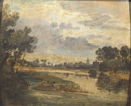 Joseph Mallord William Turner - On the Thames (c.1807)