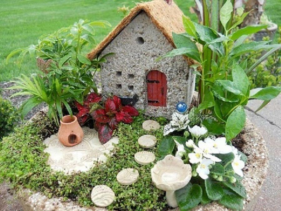 C mo hacer un jard n en miniatura paso a paso ideas para el hogar pinterest diy y - Jardines verticales paso a paso ...