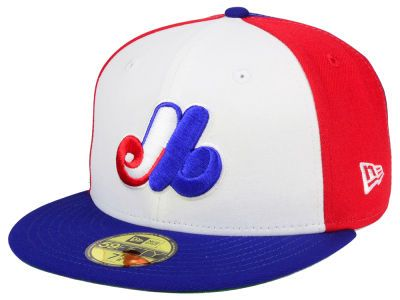 f713d1ba2415a3 Montreal Expos New Era MLB Cooperstown 59FIFTY Cap | hats | Fitted ...