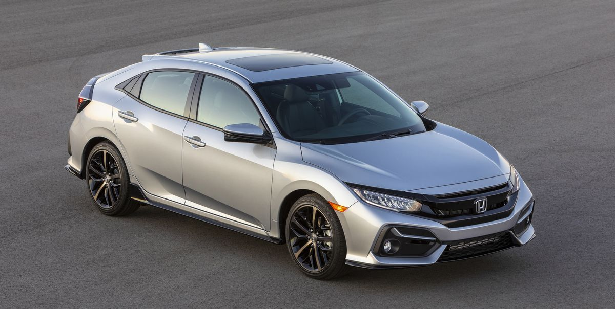 View Photos of the 2020 Honda Civic hatchback Honda