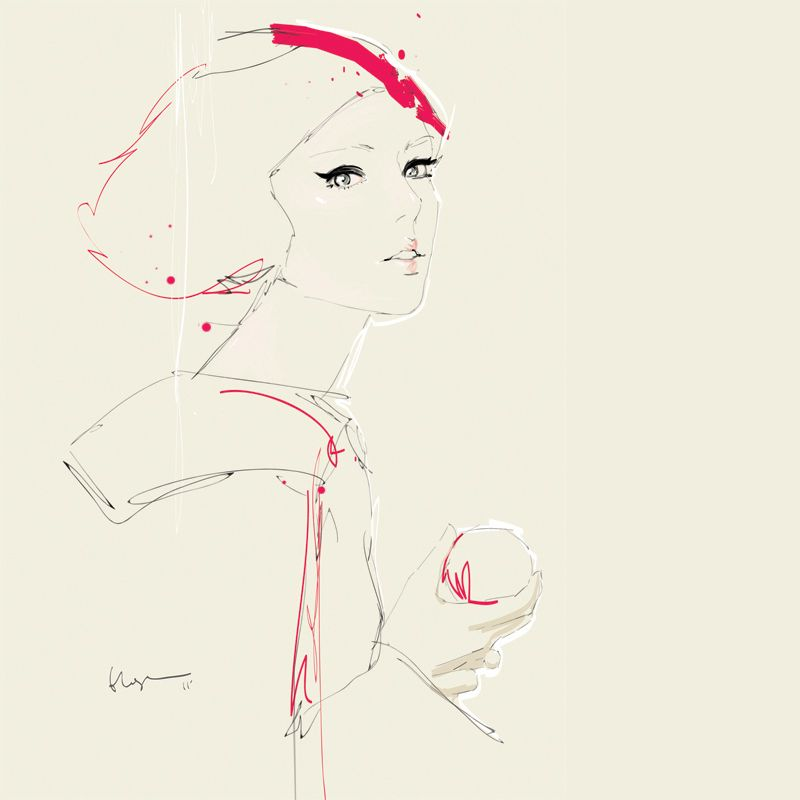 Great Fashion Illustrations by Floyd Grey, an Illustrator from Malaysia.
