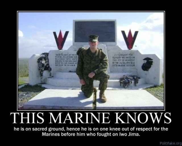 THIS MARINE KNOWS