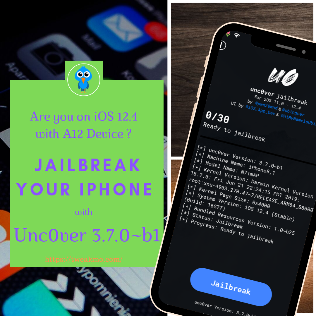 Jailbreak your A12 Device with UnC0ver App, Ios apps