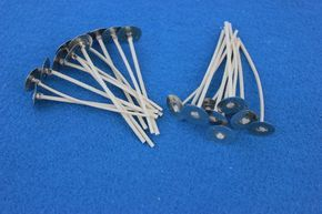 """Votive Wicks  50  Wicks  #750  2 1//2/"""" for candle making jars"""
