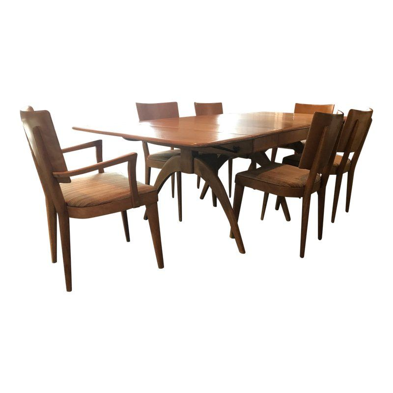 Heywood Wakefield Dining Table Chairs Dining Table Chairs