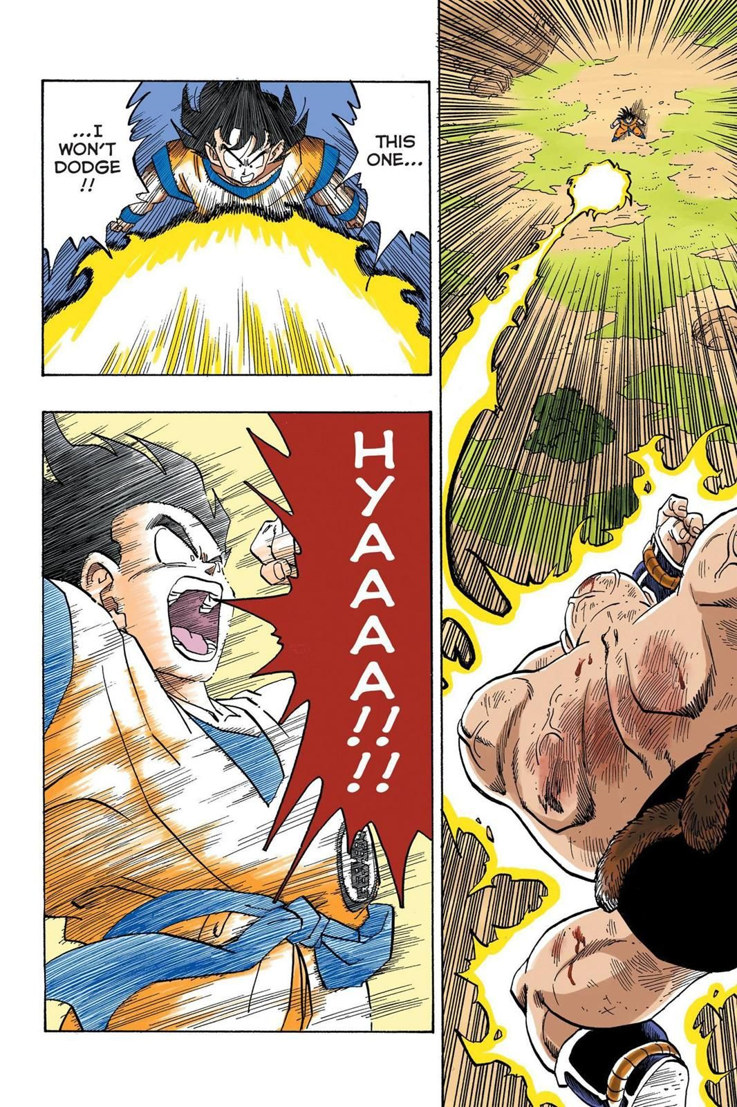 Color on online - Read Dragon Ball Full Color Saiyan Arc Chapter 31 Page 9 Online For Free