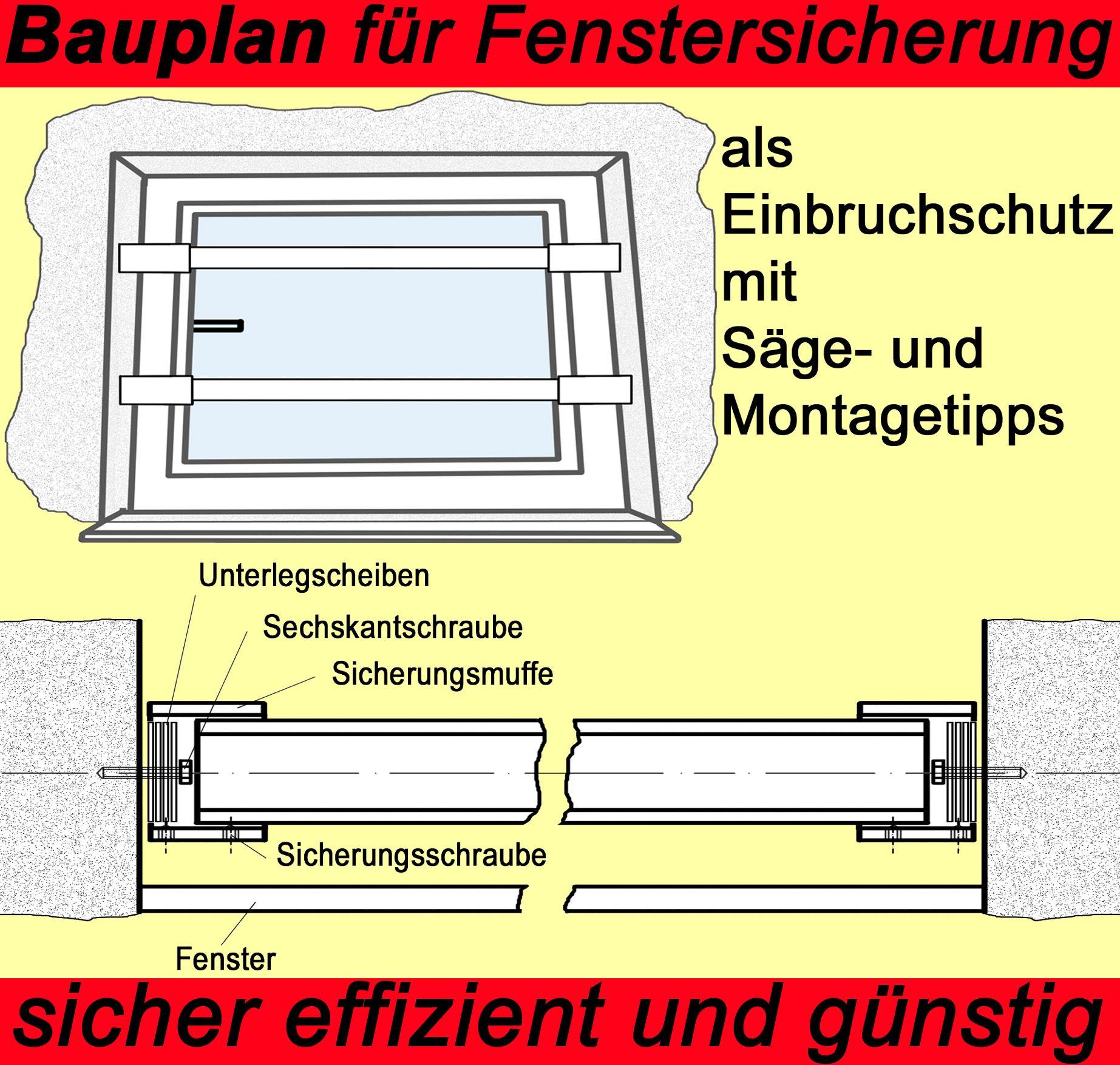 fenstersicherung selber bauen swalif. Black Bedroom Furniture Sets. Home Design Ideas