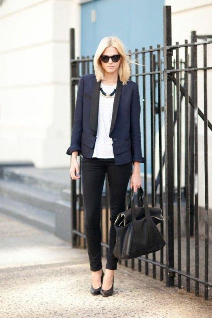 1001 id es pour une tenue vestimentaire au travail tenue commercial et business - Tenue originale femme ...