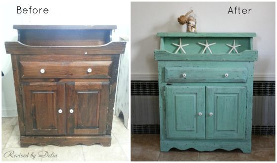 Ordinaire RevivedDrySink_BeforeAfter   Painted With Old Fashioned Milk Paint