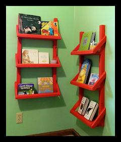 Crafty Kate Nursery Bookshelves