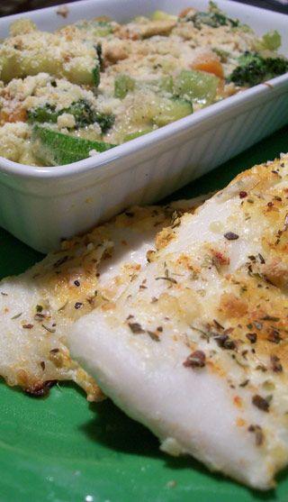 Tilapia au fromage parmesan