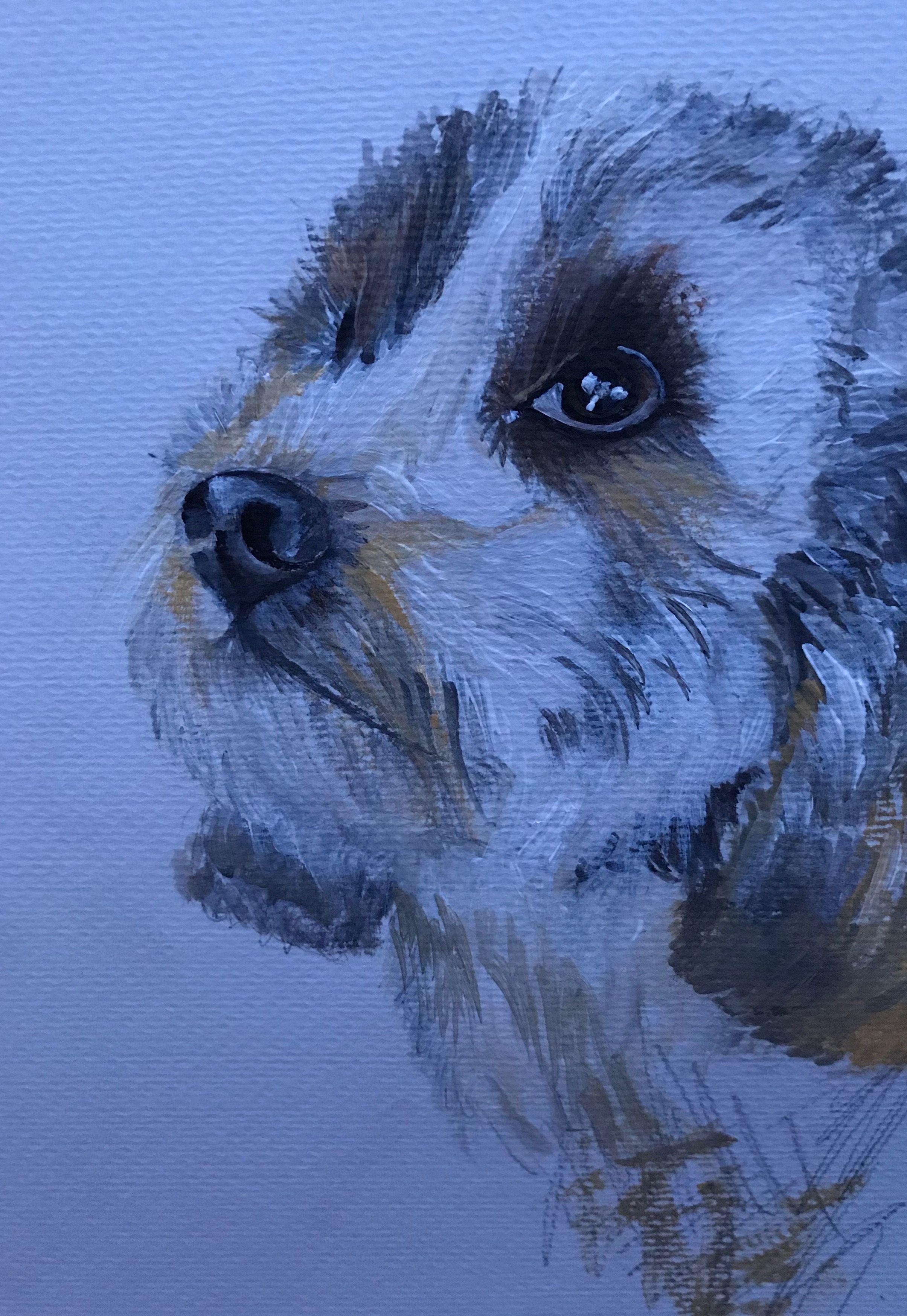 Wee dog Lynn Reid Clark Art Farty