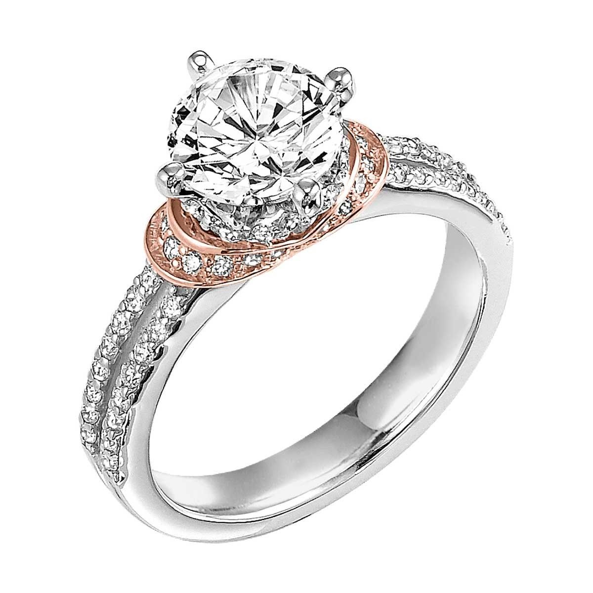 Artcarved Artcarved Tahlia Split Shank Engagement Ring