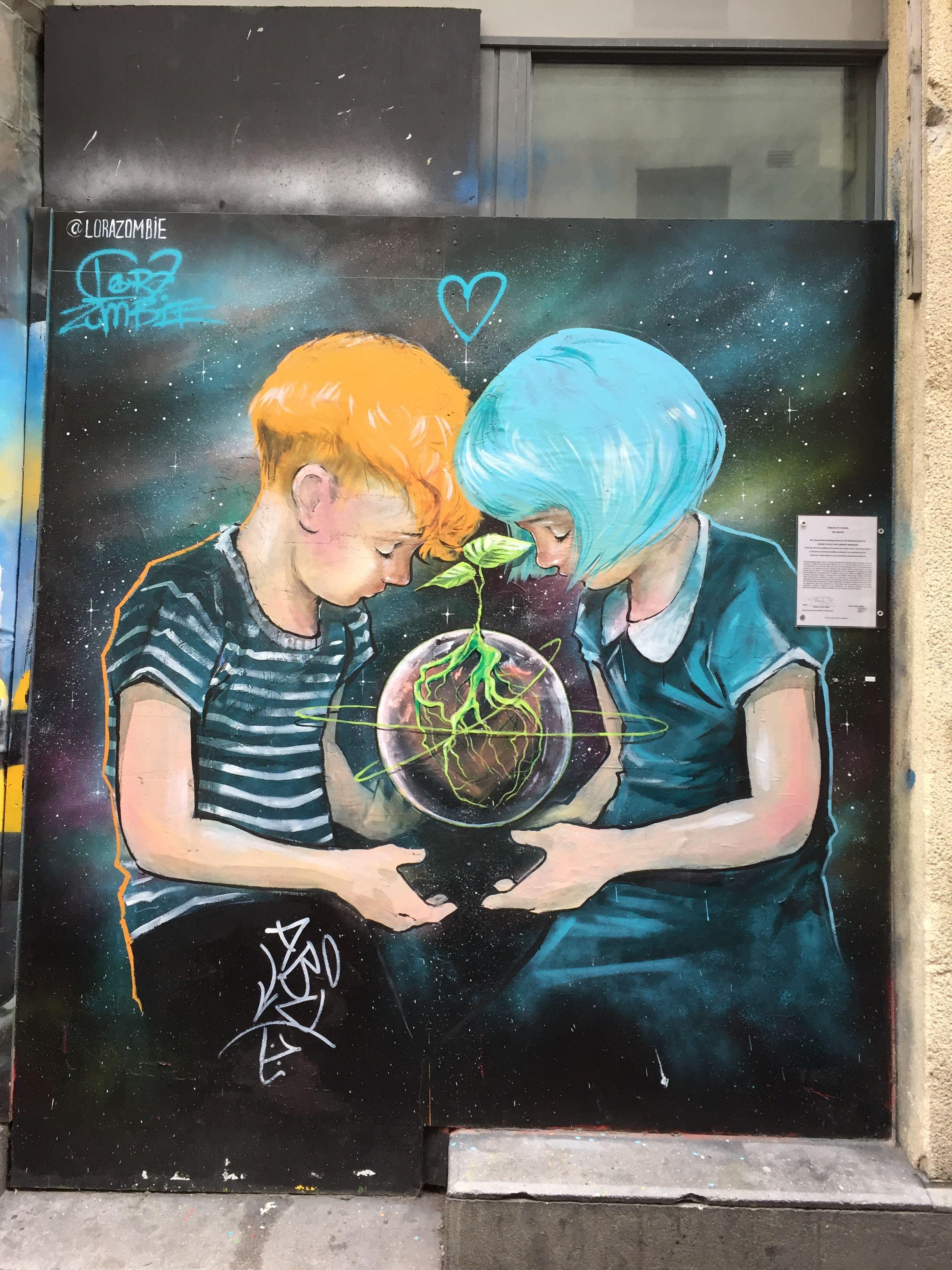 Streetart In Dublin Dublin Streetart Streetart