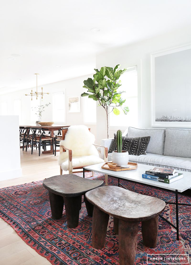 Home Tour: A Hip Couple\'s Fresh California Bungalow | Amber ...