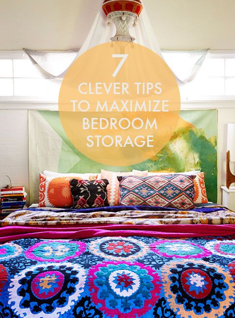 Your bedroom is your sanctuary, your getaway, the one room in the house that is organized and clutter free -- wait, it's not? Don't feel bad, mine isn't either! Let's face it, it's not always easy to stick...