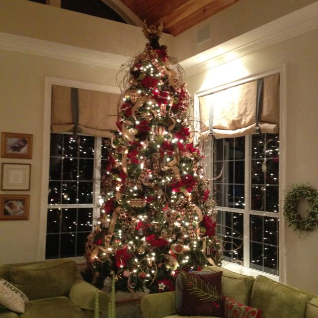 Charming 14 Ft Christmas Tree Part - 6: Christmas Tree With Sticks:) 14 Ft