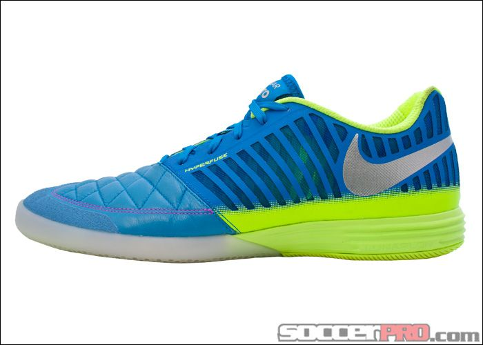 the latest d70a8 39aea Nike5 Lunargato II Indoor Soccer Shoe - Blue with Lime... 109.99